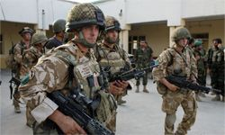 No mind control for these U.S. soldiers on patrol -- yet.