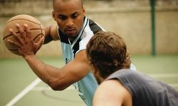 Playing 1-on-1 is a great way to work on your skills while having fun.