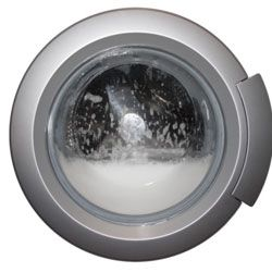 Front-loading washing machines use less water than top-loaders.