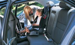 The LATCH system was rolled out gradually, with orders to be fully implemented by September of 2002. See more pictures of car safety.
