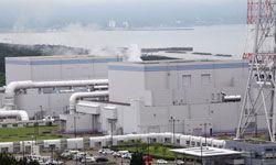 A photo of the Kashiwazaki-Kariwa nuclear power plant following a magnitude 6.8 earthquake, on July 17, 2007, in Kashiwazaki, Niigata Prefecture, Japan