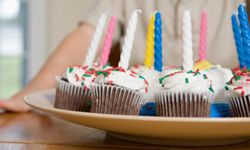 Cupcakes make a great alternative to a birthday sheet cake.