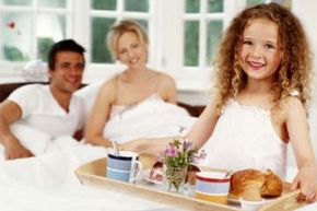Get kids involved in Mother's Day breakfast in bed.