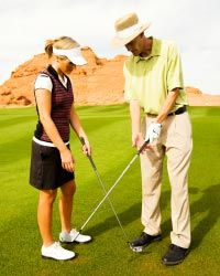 Alignment is a big part of the golf game.