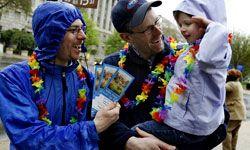 Gay-parented children grow up as well-adjusted as their heterosexual-parented peers.