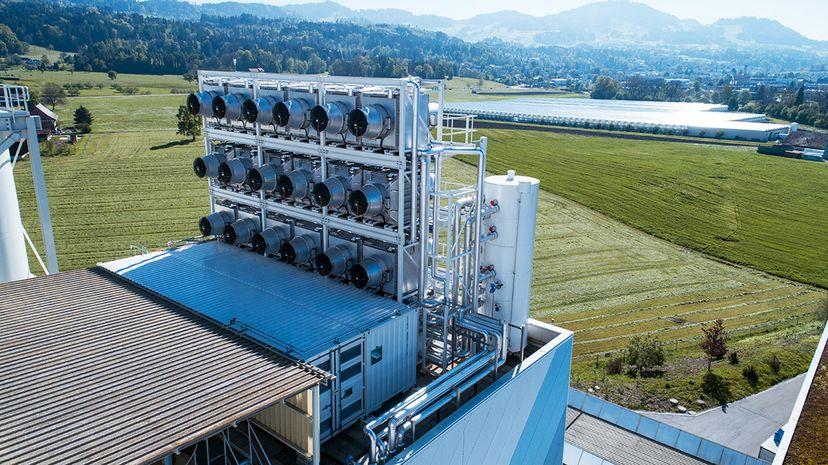 Climeworks carbon capture