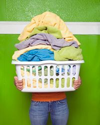 A laundry hamper or basket is important to help you keep your clothes off the floor.