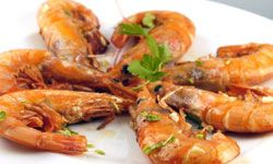 Go easy on yourself and buy your shrimp already peeled and cleaned.
