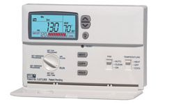 To save energy, upgrade to a programmable thermostat.