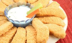 Chicken fingers are a classic, easy and delicious finger food. See more pictures of classic snacks.