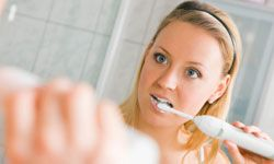 Some electric toothbrushes will automatically shut off if you brush too hard, helping you to avoid teeth and gum damage.