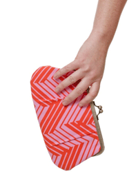 Clutch purses are compact and cute.