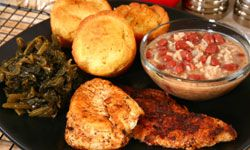 If you like fried catfish, try it blackened with Cajun seasoning.