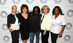 """When Barbara Walters explained Twitter on """"The View,"""" the Web site crashed. See more popular Web site pictures."""