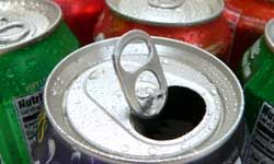 Soda is sweet, but using the can and tab to collect water to help you survive is sweeter.