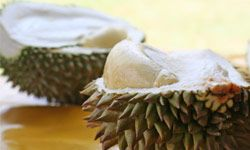 Want to eat a fruit so stinky it's banned in public places in some parts of the world? Try the durian.
