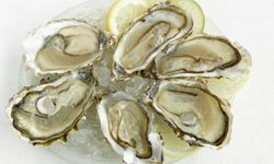 Tuck into some oysters and emerge with a pearly complexion.