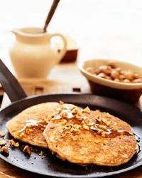 Pancakes made from buckwheat can help keep your skin clear.