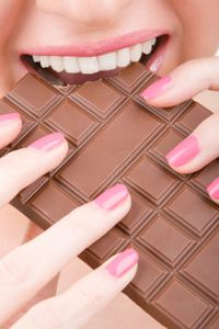 Chocolate contains the pleasure-inducing chemicals dopamine and serotonin. See more pictures of chocolate.