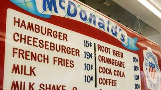 5 Failed McDonald's Menu Items