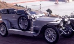 Miller was a huge fan of aircraft and classic cars, like this Rolls-Royce Silver Ghost.