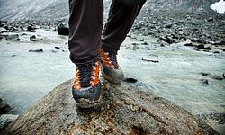 You'll need the right boots for the expected conditions of your backpacking trip.