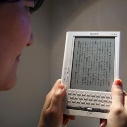 Women around the world gravitate toward e-readers.