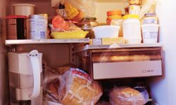 An extra fridge could help you organize your food.