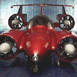 """Skycar M400的设计是垂直起降,很像鹞式喷气式飞机,最初的造价约为100万美元。""""border="""