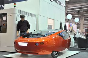 The Urbee is a full-size, street-legal car -- and its entire body is 3-D printed.