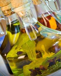 Flavored oils and vinegars quickly and tastefully dress everything from salads to grilled vegetables and roasted meats.