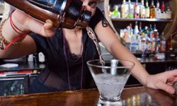 Bartending is a great way to meet people, but unless it's a second job, it's not that lucrative.