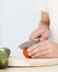 Having the right knife skills in the kitchen will keep you safe and make your food preparation more efficient. See more not ovens pictures.