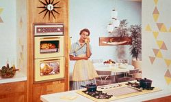 Kitchen trends have changed a lot since the sunny 1960s.