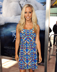 Check out Kendra Wilkinson's chic dress for proof that prints are about more than animal-inspired designs.