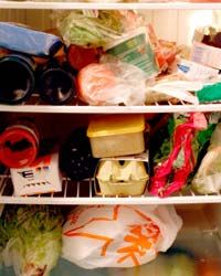If your fridge looks like this, that's going to be a problem.