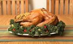 Let other people handle side dishes and desserts, while you turn your attention to preparing a perfect turkey.