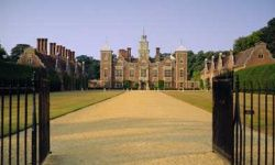 Around May 19 every year, Anne Boleyn's headless ghost pays a visit to Blickling Hall in Norfolk, England.