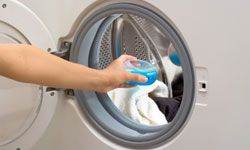 You must use HE detergent for an HE machine. See more green living pictures.