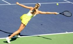 Tennis will have you running, reaching and sweating.