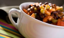 It's hard to go wrong with chili on a cold day.