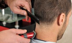 Neatly trimmed hair and a cleanly shaven neck will help you look your best at an interview.