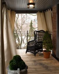 Cold weather can cause damage to furniture and other outdoor items, so it helps to properly winterize everything.