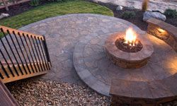 Firepits are perfect for adding warmth and creating a spot for family and friends to gather.