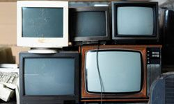 Just because it's old technology doesn't mean its useless junk. See more pictures of TV evolution.