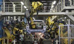 Robots at Nissan's Tochigi Plant, hard at work