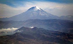 Citlaltepetl, also known as Pico de Orizaba, is Mexico's tallest mountain.