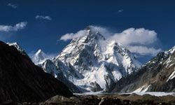 K2 is the second tallest mountain in the world, second only to Mt. Everest.