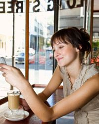 Coffee shops with Wi-Fi are convenient but public networks aren't secure.