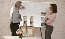 Reception seating chart not a big deal to you? Delegate your mother (or stepmother or future mother-in-law) to working it out with the wedding planner.